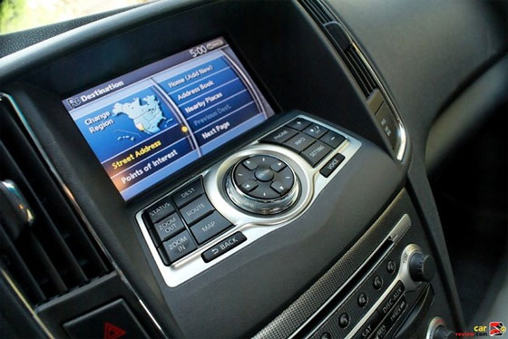 The Nissan Navigation System