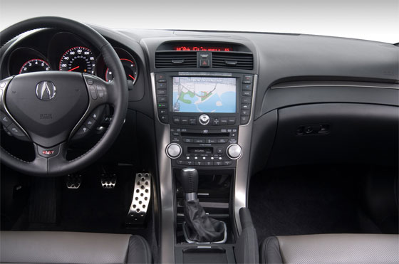 The Acura TL Navigation System