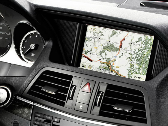 dvd maps navigation mercedes benz