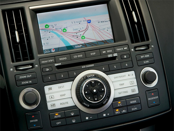 The Infiniti Navigation System