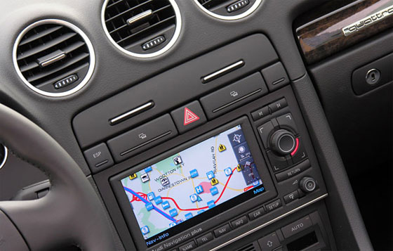 The Audi Navigation System Plus